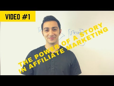 The Power of Your Campaign's Story in Affiliate Marketing – Free Training Workshop Part 1