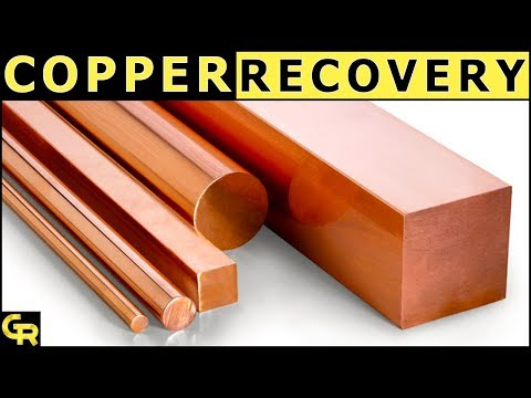♻Copper Recovery Process from Nitric Acid with computer Recycling
