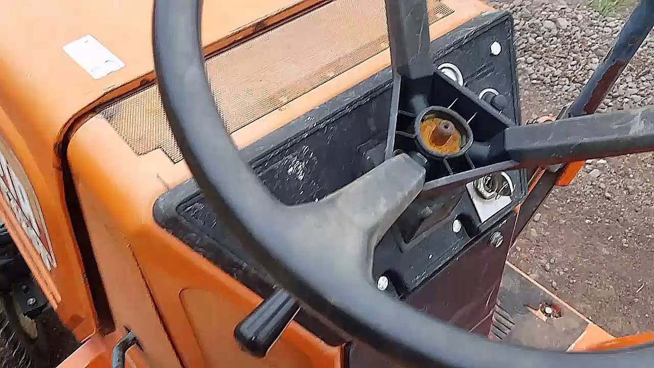 Kubota G4200 Tractor Diesel YouTube