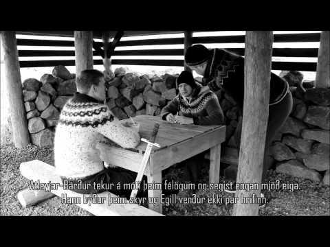 Egill Skallagrímsson í Atley (stuttmynd)