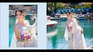 Свадебный  Фотоальбом . Свадьба в Стамбуле  Серхат и Мария