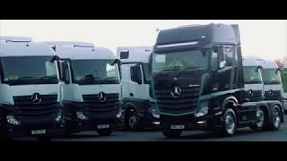 Mercedes-Benz UK Limited Edition Actros1. One Driver. One Truck.