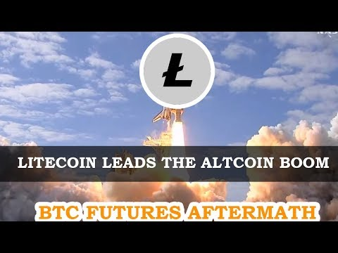 🚀Litecoin Blasts Off! | Bitcoin Futures Rally Continues! 😃