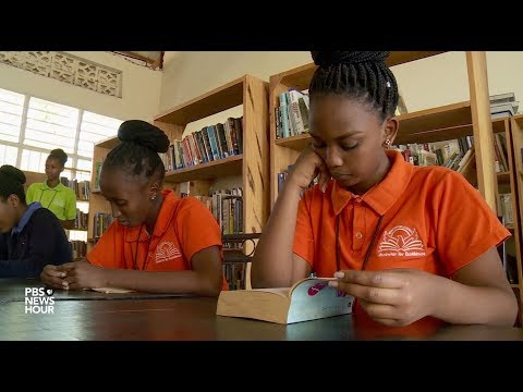 Getting books from the U.S. feed these students' love of reading
