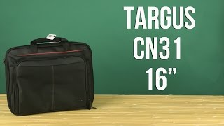 Розпакування Targus Notebook Case 16'' Black CN31