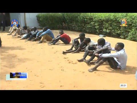 SÉCURITÉ - PRÉSENTATION DES PRÉSUMÉS MALFRATS PAR LA POLICE