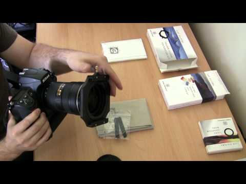 Lee filters How to use ND Grads filter holder basics