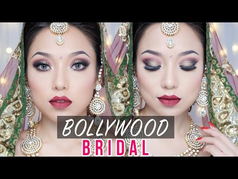 Bollywood bride makeup how to do it by yourself easy youtube bollywood bride makeup how to do it by yourself easy solutioingenieria