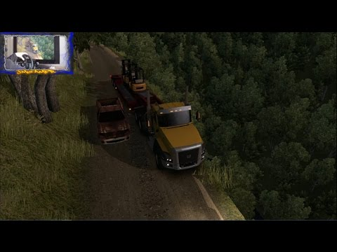 American Truck Simulator 2.0 #42 | Carreteras Infernales #13 | Carretera estrecha Con Barranco