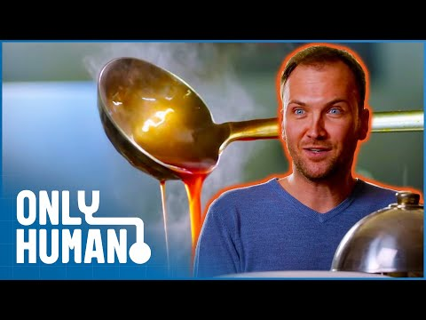 Mr. All You Can Eat Swallows Eight Solid Plates of Food | Britain's Buffet Hunters | Only Human