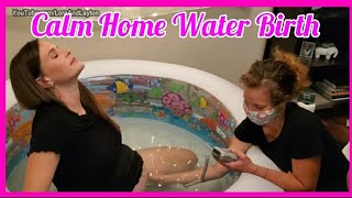 Home Birth Vlog During Coronavirus Pandemic ♡ Emotional Positive Water Birth Video with Siblings!