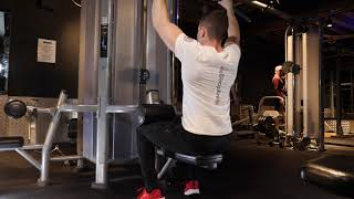 Neutral Grip Cable Lat Pull Down