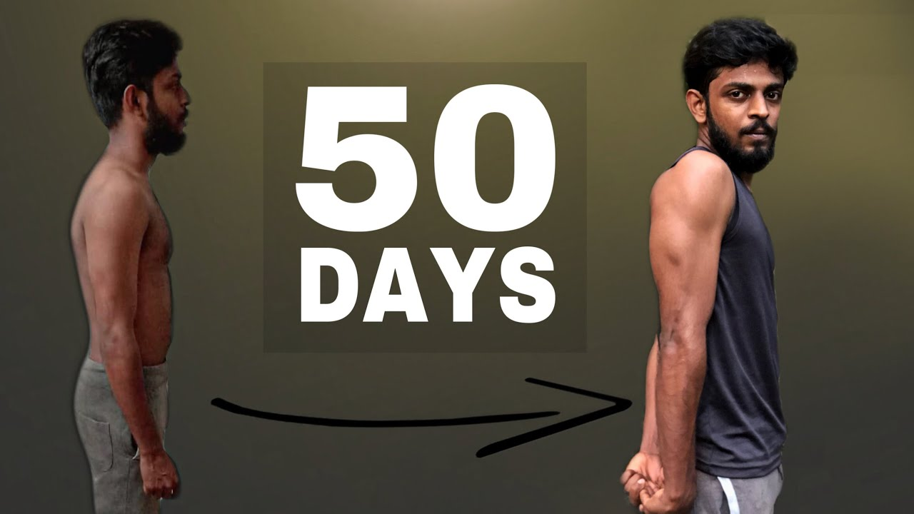 50 Days weight Gain Transformation | Malayalam Fitness