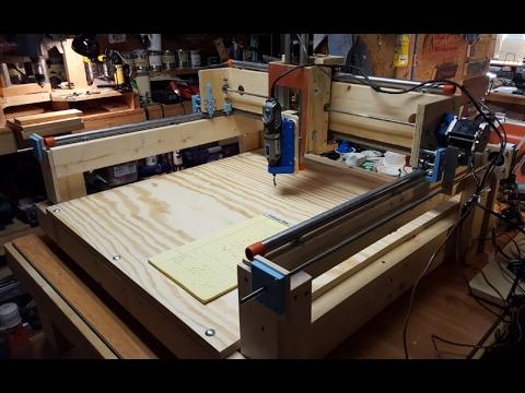 Solsylva DIY CNC - Basic Machine Finished!