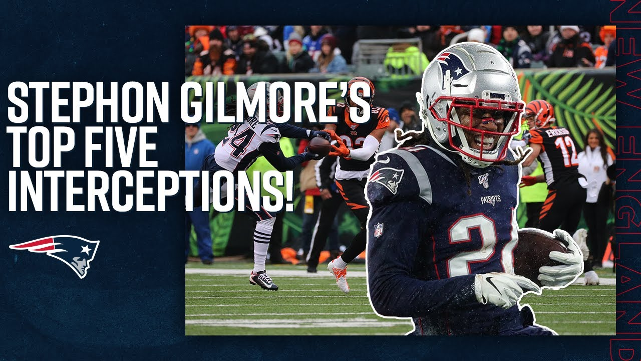 Stephon Gilmore's Top 5 Interceptions! | NFL Highlights