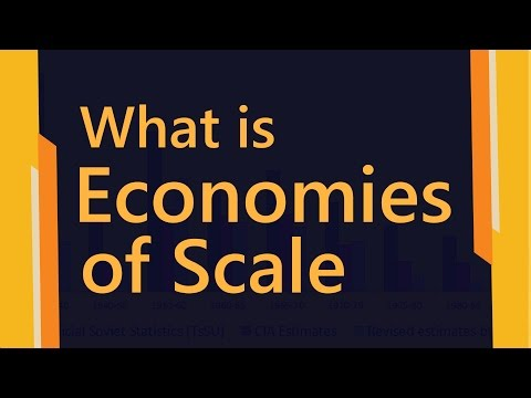 What is economies of scale | Types of Economies of Scale | E