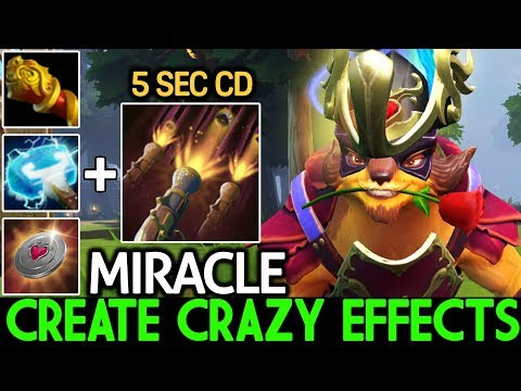 Miracle- [Pangolier] Create Crazy Effects Cancer Game 7.21 Dota 2 thumbnail
