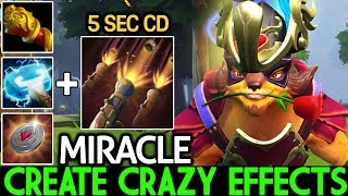 Miracle- [Pangolier] Create Crazy Effects Cancer Game 7.21 Dota 2