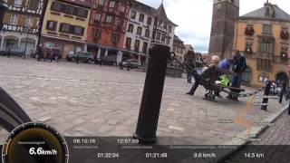 (6) Radtour EuroVelo 5: Elsässische Weinstraße von Molsheim nach Barr
