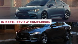2021 Toyota Corolla  vs 2021 Mazda 3 Sedan– Comparison In-Depth  Review