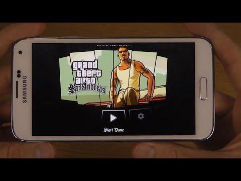 GTA San Andreas Samsung Galaxy S5 HD Gameplay Trailer