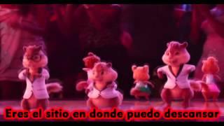 Alvin y las Ardillas - Tu Eres Mi Hogar (Lyric Video) HD