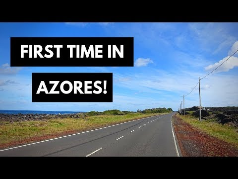 My first time in the Azores - day 1 in Pico Island.