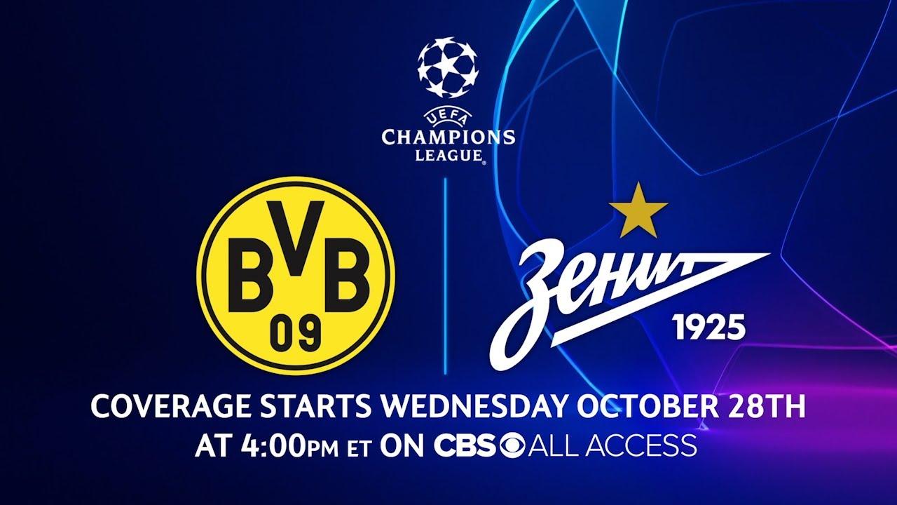 Dortmund vs Zenit: Group Stage - Matchday 2 | UCL on CBS Sports