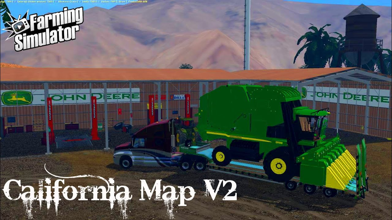 FS15 Nouveauts California Map V2  YouTube