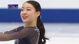 Рика Кихира Произвольная программа Женщины Чемпионат мира по фигурному катанию 2019