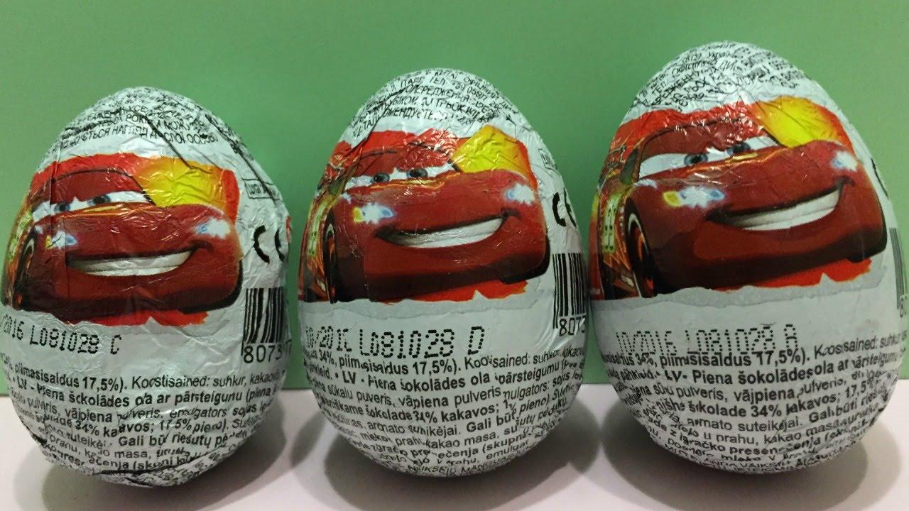 Disney Pixar Cars Surprise Eggs