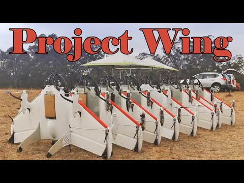 Google X Project Wing - Drone Delivery : Video
