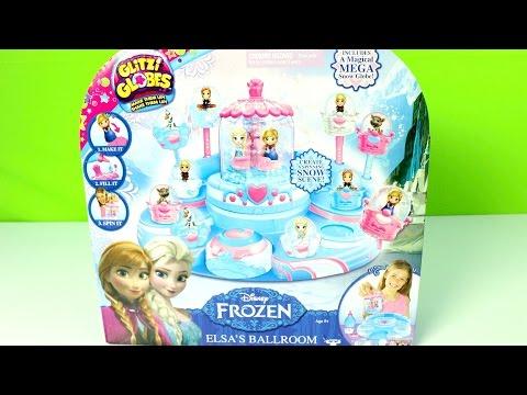 JUGUETES!! Disney Frozen Glitzi Globes!!  MundodeJuguetes