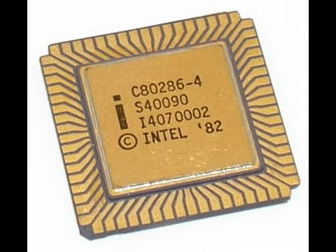 80286 MICROPROCESSOR - YouTube