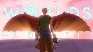 DAY 1040: SOARING INTO THE HEAVENS TO FIND OUR BELOVED HAT! | Worlds Adrift Closed Beta