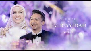 Wedding Reception Mira Filzah & Wan Emir Astar #EmirAmirah 🌌❤️💛