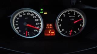 BMW E60 M5 100-339 km/h Top Speed