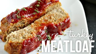 Easy and Quick Turkey Meatloaf!! Homemade Moist Meatloaf Recipe
