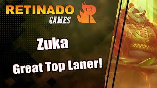 Arena of Valor - Gameplay: Zuka - Great Top Laner!