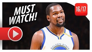 Repeat youtube video Kevin Durant UNREAL Full Highlights vs Thunder (2016.11.03) - 39 Pts, 7 Reb, BEAT DOWN!