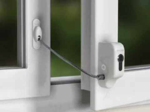 350687 Entrebâilleur De Fenêtre à Câble à Cylindre Européen Pour