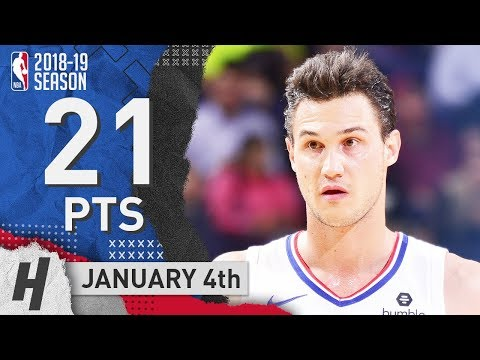 Danilo Gallinari Full Highlights Clippers vs Suns 2019.01.04 - 21 Pts, 6 Ast, 7 Rebounds!