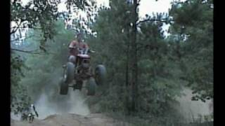 Lots of Big Air Jumps on 4 Wheelers