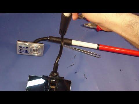 Ayarlanabilir kamera ve telefon tutucu (Adjustable camera and phone holder)