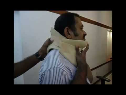 Philadelphia Collar Application -Top Phil Cervical Immobilizer