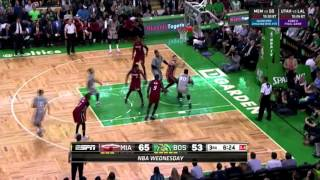 Boston Celtics 20-0 run vs. Miami Heat (04/13/2016)