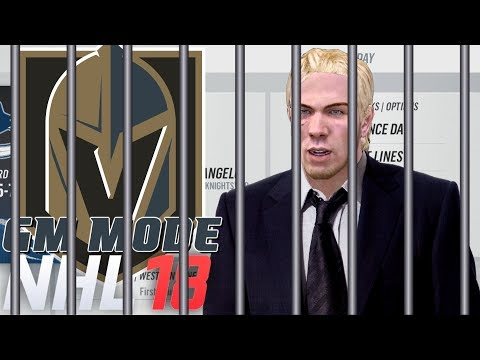 PLAYOFFS Round One Vancouver - NHL 18 GM Mode Commentary Vegas ep 15