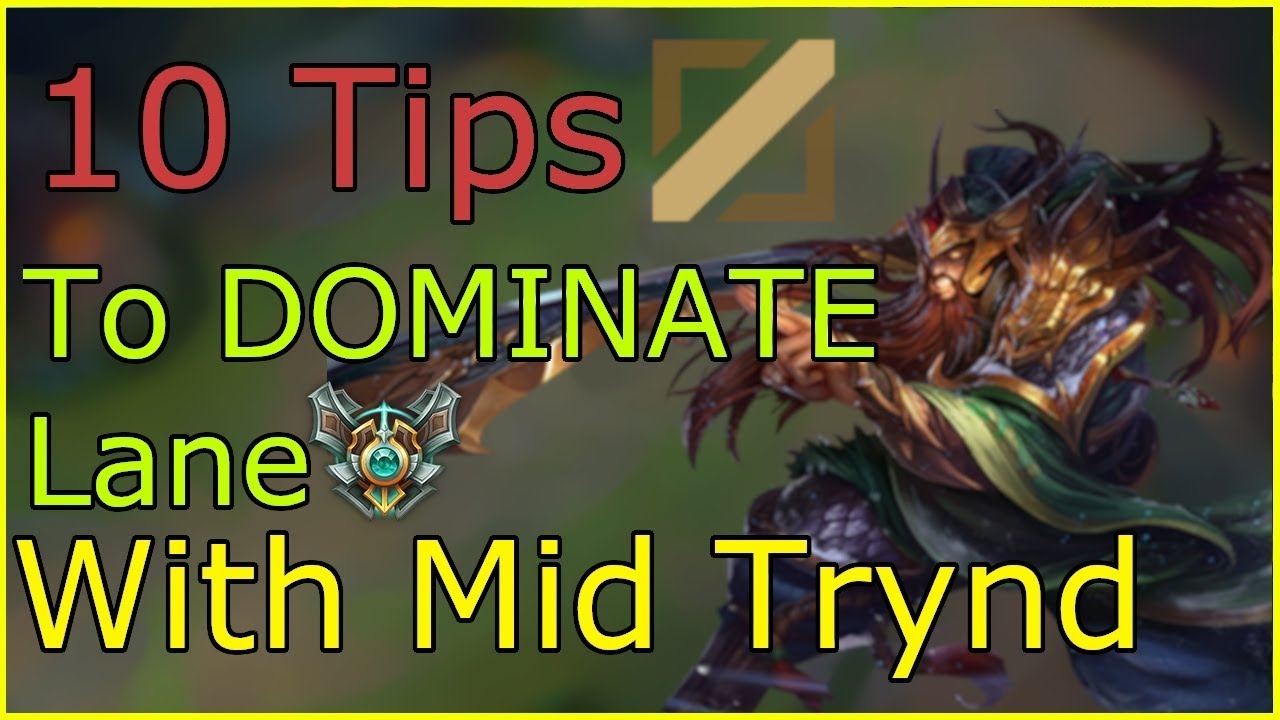 Tryndamere Build Guide : [9 11] In Depth Mid/Top Tryndamere