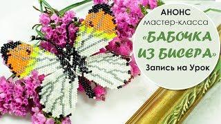 Бабочка из бисера. Анонс мастер-класса