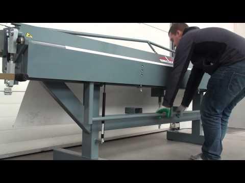 Листогиб ручной усиленный Decker X7-4250/1 мм